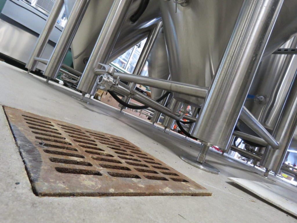Brewery Drainage