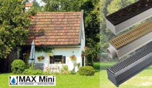 MAX Mini She Shed Drains