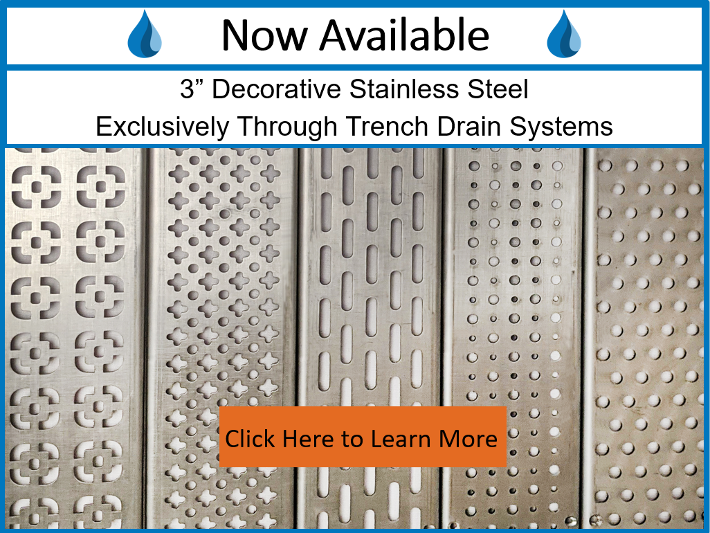 Stainless Steel Decorative Grates